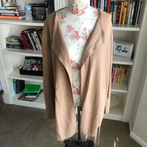 Old navy camel oversized cardigan